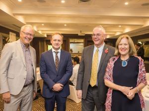 Cornelis Keijzer (EEAS- Canberra), James Angus Bond (CITI), Peter Harrington (British High Commission), Jane Drake-Brockman, IIT University of Adelaide