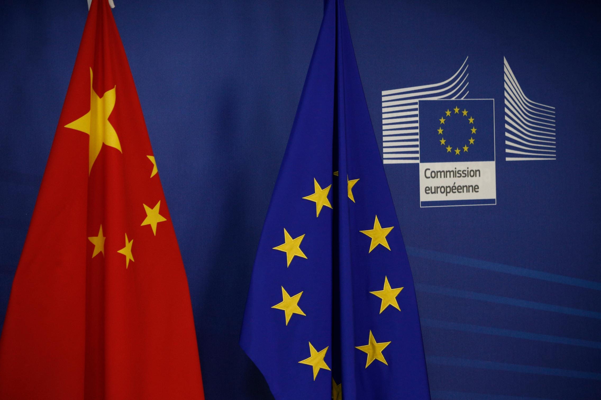 EU _China Flag